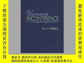 二手書博民逛書店Urinary罕見Incontinence-尿失禁Y361738 Pat D. O Donnell,... E