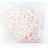 〔小禮堂嬰幼館〕台灣 佳美 Kitty 幼童平面口罩《5入.粉》感冒對策用品4710482-07860