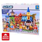 【AUSINI 奧斯尼積木】小城市系列 - 聖誕郵局 25707 (可相容於LEGO樂高)