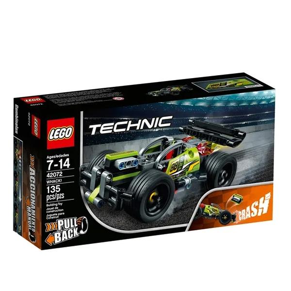LEGO 樂高 TECHNIC 動力科技系列 WHACK!衝擊賽車 42072
