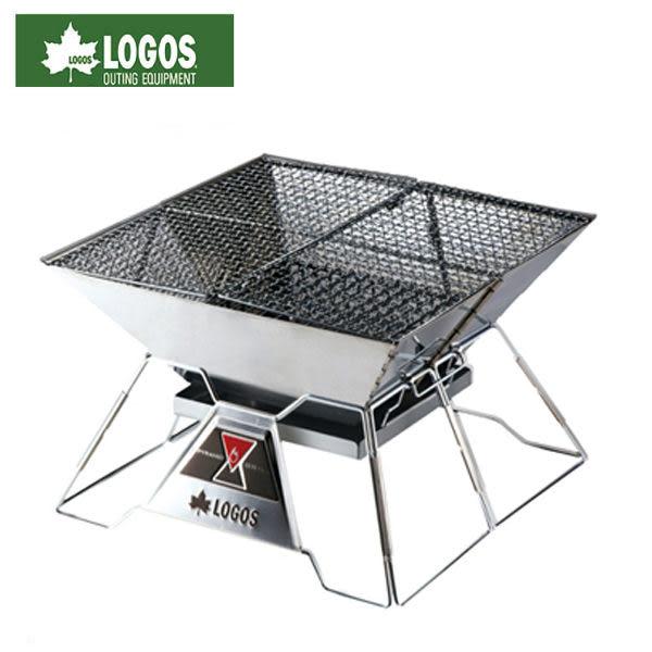 LOGOS 二代紅標焚火台 LG81064102/城市綠洲(登山露營用品、烤肉專用、烤吐司架、炊具、中秋節)