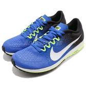 【六折特賣】Nike 競速跑鞋 Zoom Streak 6 藍 白 氣墊避震 慢跑鞋 女鞋 運動鞋【PUMP306】 831413-410