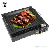 烤盤鐵板燒烤工具燒烤盤韓式煎盤烤盤戶外木炭烤肉盤 nm2649 【Pink中大尺碼】