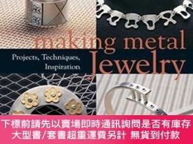 二手書博民逛書店Making罕見Metal JewelryY255174 Joanna Gollberg Lark Books