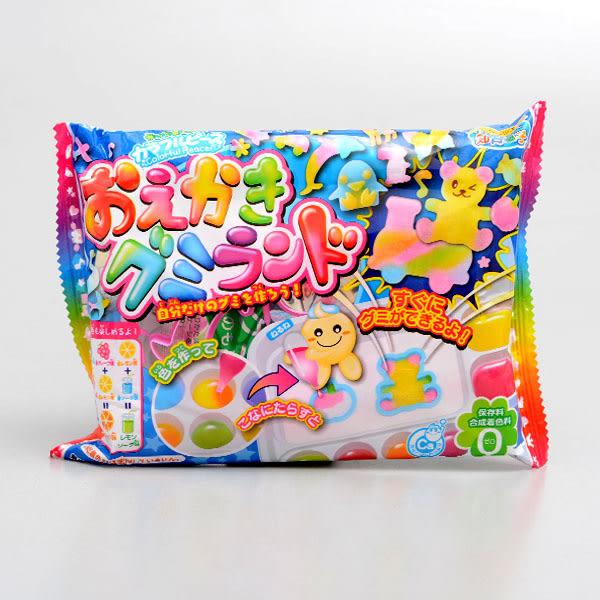 日本【Kracie】自己動手畫糖果DIY知育果子 27g(賞味期限:2019.02)