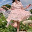蘿莉塔套裝仙女兒童洛麗塔洋裝童lolita日常連衣裙公主中袖小女孩 蘿莉新品