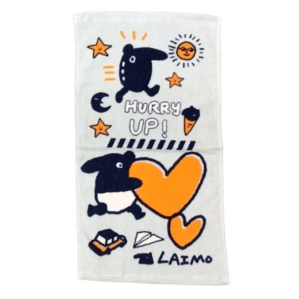【LAIMO馬來貘】馬來貘悠閒時光童巾 100%棉 28x54cm