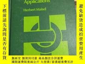 二手書博民逛書店Computers:programming罕見and applications(計算機:編程和應用)Y2321