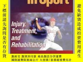 二手書博民逛書店The罕見Elbow in Sport: Injury, Treatment and Rehabilitation