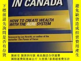 二手書博民逛書店Real罕見Estate Investing in Canada
