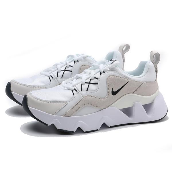 (偏小建議大半號) NIKE 休閒鞋 WMNS RYZ 365 白 米 灰 麂皮 鋸齒 孫芸芸 運動 女 (布魯克林) BQ4153-100