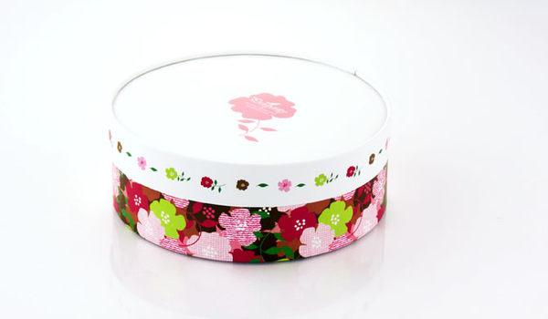 16CM粉色花園 乳酪盒 起司蛋糕盒 CI0605