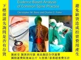 二手書博民逛書店Prove罕見It! Evidence-Based Analysis of Common Spine Practi
