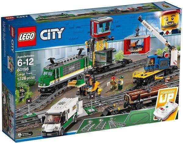 【LEGO樂高】CITY 貨運列車 #60198