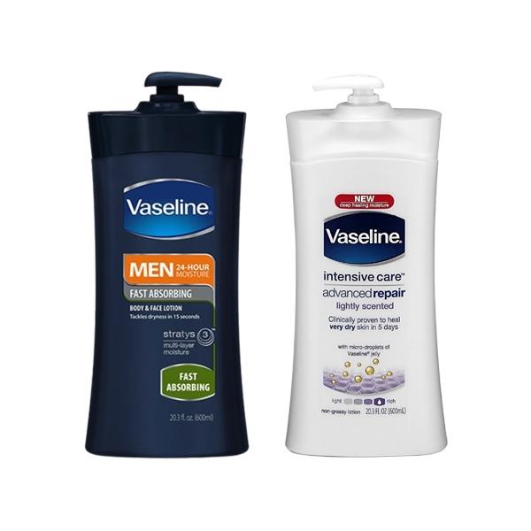 Vaseline凡士林 男士完美修護保濕乳600ml / 深層修護保濕乳液600ml【小三美日】