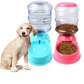 ✿現貨 快速出貨✿【小麥購物】寵物自動餵食飲水器 貓狗 自動餵食 重力水盆【C063】