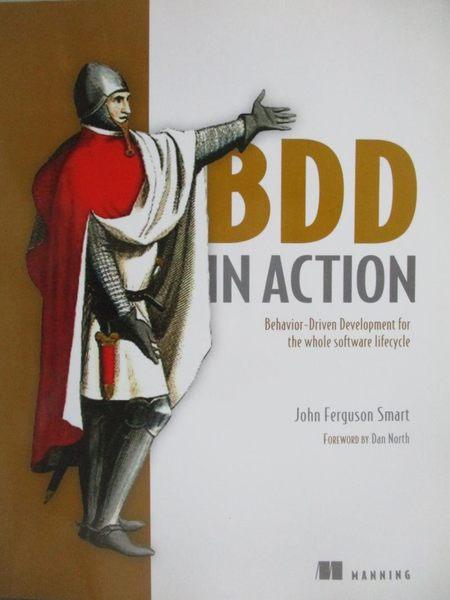 【書寶二手書T7/電腦_ZID】BDD in Action-Behavior-Driven Development…_S