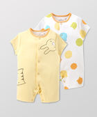 Hallmark Babies 嬰兒春夏純棉短袖連身衣兩件裝 HE1-E01-04-BU-MY
