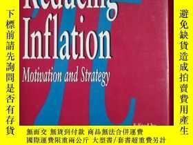 二手書博民逛書店Reducing罕見Inflation: Motivation
