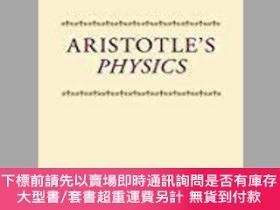 二手書博民逛書店Aristotle s罕見Physics: A Revised Text With Introduction An