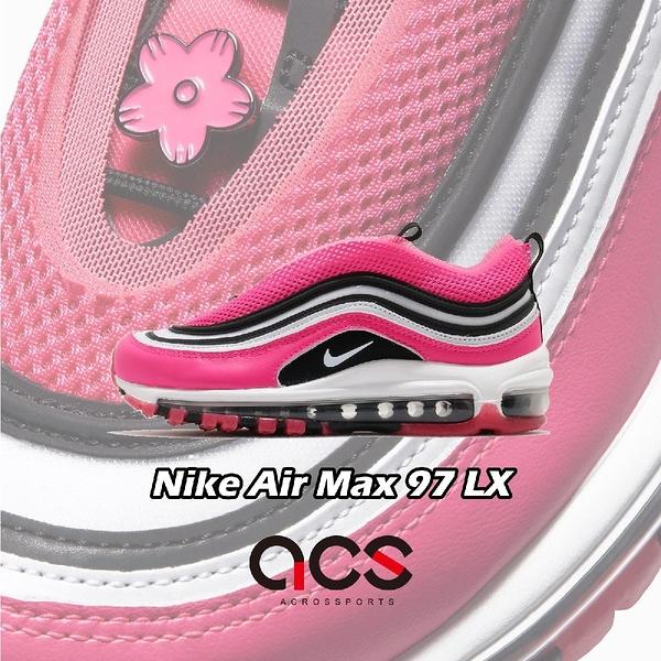 【五折特賣】Nike 休閒鞋 Wmns Air Max 97 LX 粉紅 黑 女鞋 復古慢跑鞋 運動鞋【ACS】 CV3411-600