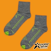 PolarStar 中性排汗短筒襪『炭灰』P17521 露營.戶外.登山.排汗襪.彈性襪.紳士襪.休閒襪.長襪