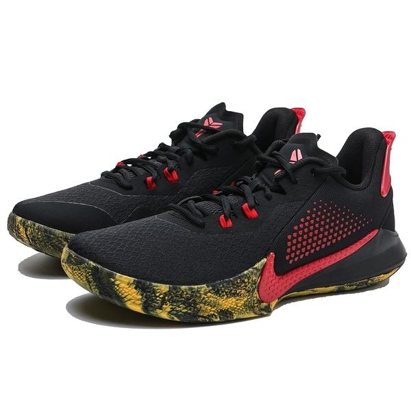 NIKE 籃球鞋 KOBE MAMBA FURY EP 黑紅 黃潑墨 耐磨 氣墊 男 (布魯克林) CK2088-002