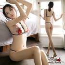 天使波堤【LD0423-1】美背玫瑰刺繡...
