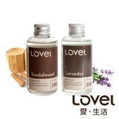 【超值舒壓組】南法天然香氛擴香精油2入組(薰衣草+檀香)