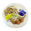 【陽光農業】大四喜綜合菇(鮮香菇、秀珍菇、金針菇、黑珍珠菇)(約450g/盒)