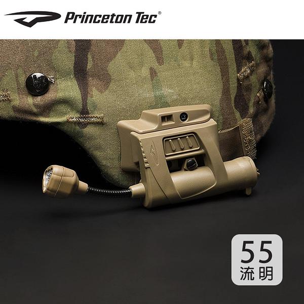 PrincetonTec 軍用CHARGE-MLPS生存遊戲頭盔燈C-RGI (55流明) / 城市綠洲 (頭燈、手電筒、燈具、照明)