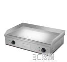 鐵板燒 新炊 內銷型820A 電扒爐商用 鐵板燒設備電平趴鍋煎烤燒 手抓餅機 3C優購