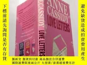 二手書博民逛書店love罕見letters:情書Y212829