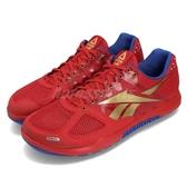Reebok 訓練鞋 R CrossFit Nano 2.0 紅 金 健身專用 運動鞋 男鞋【PUMP306】 DV5758