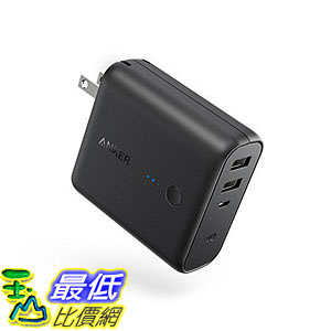 Anker PowerCore Fusion Portable Charger 5000mAh Dual USB Wall Charger Foldable AK-A1621011