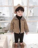 棉小班男童冬裝外套韓版寶寶羊羔毛上衣兒童加厚夾克衫潮『夢娜麗莎精品館』