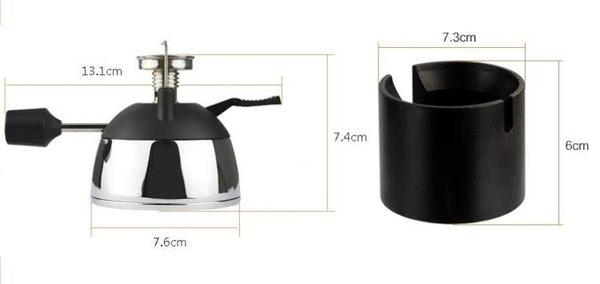 迷你便攜式咖啡爐 摩卡壺虹吸壺專配瓦斯爐 戶外便攜爐