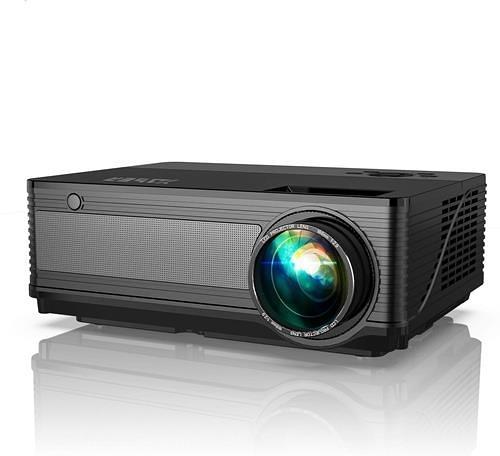 【日本代購】YABER投影機5800lm 1920×1080真實解析度家庭影院投影機