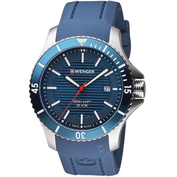 瑞士WENGER Seaforce海勢系列 征服怒海潛水腕錶  01.0641.124