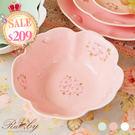 碗具 花邊櫻花浮雕陶瓷碗-Ruby s ...