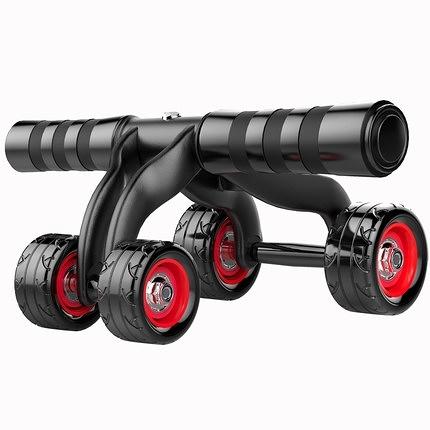 健腹輪腹肌輪初學者家用女男馬甲線鍛煉運動健身器材室內滾輪 小明同學