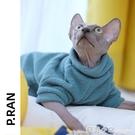 無毛貓衣服斯芬克斯貓秋裝冬季厚 保暖加絨 寵物幼貓咪德文比魯斯 蘇菲小店