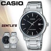 CASIO手錶專賣店 卡西歐  MTP-V002D系列 男錶 指針 生活防水 礦物防刮玻璃 不銹鋼錶帶