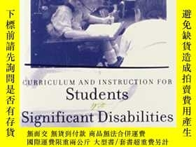 二手書博民逛書店Curriculum罕見And Instruction For Students With Significant