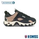 K-SWISS Cali Trail WP戶外運動防水鞋-女-藍/乾燥玫瑰