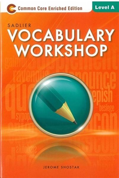(二手書)Sadlier Vocabulary Workshop Level A: Student Edition