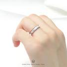 3mm質感戒-銀+細線戒-雙件組 純銀戒...