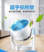 110v空氣循環風扇家用靜音空氣循環扇學生宿舍台式風扇換氣台扇渦輪對流父親節促銷