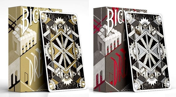 【USPCC 撲克】Bicycle Dream deck Silver/Gold playing card