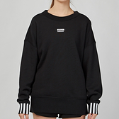 Adidas Originals SWEATSHIRT 女款 黑色 圓領 大學T 長袖 上衣 ED5845